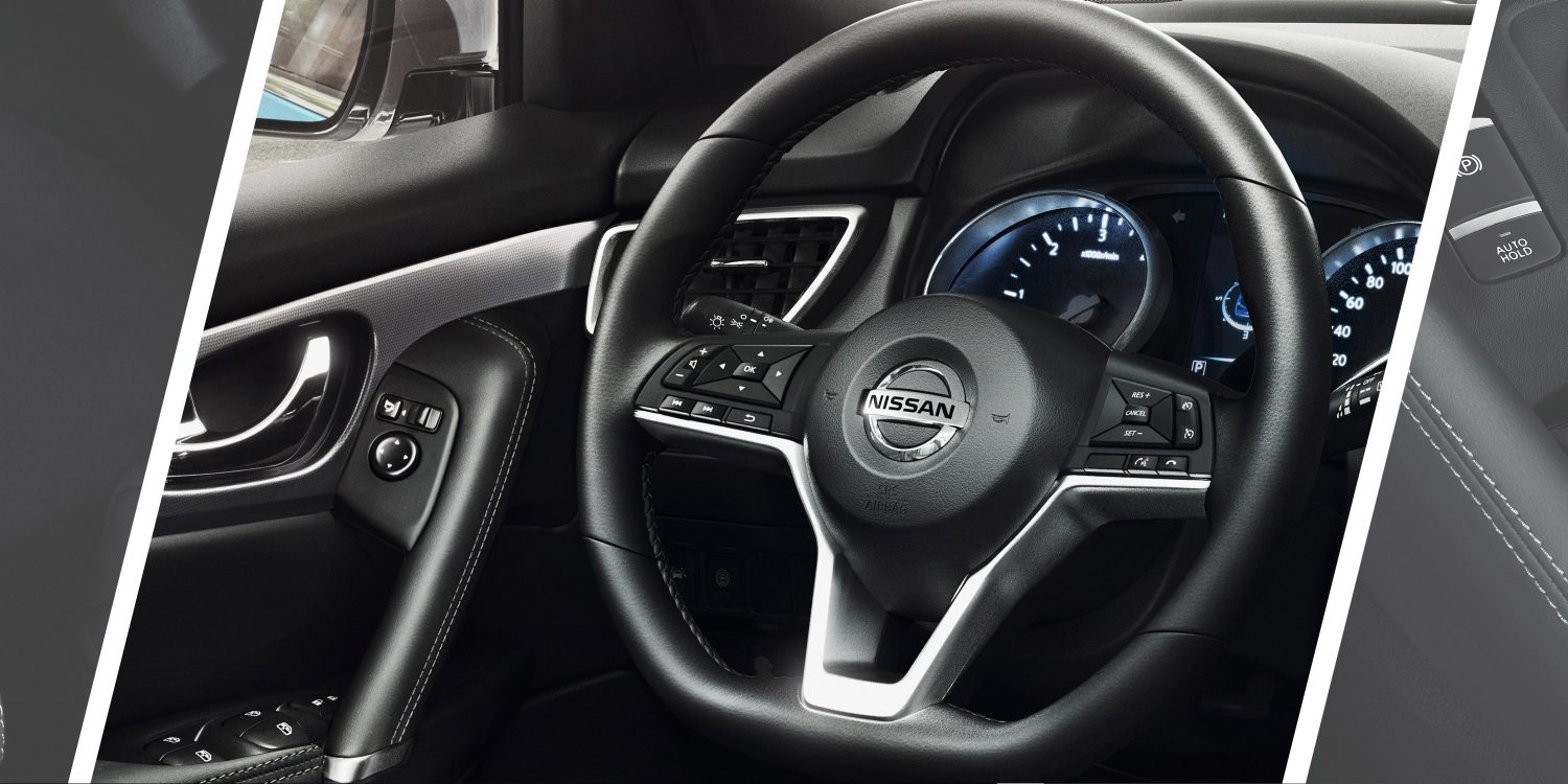 Qashqai D-shape steering wheel