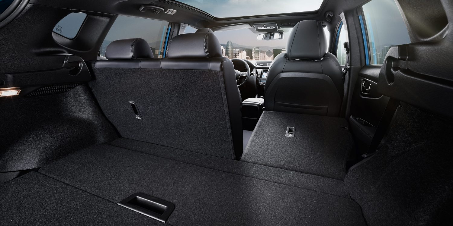 Qashqai trunk configuration smart storage