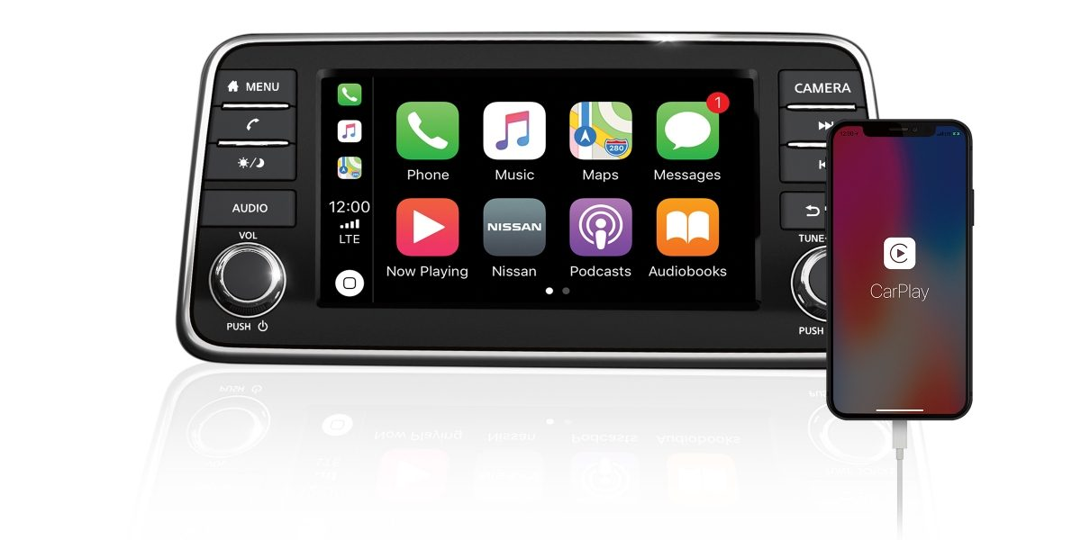 Nissan SUNNY Apple CarPlay®