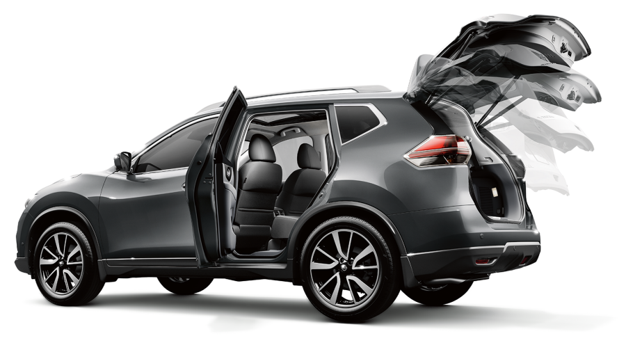 Nissan X-Trail - Power tailgate openings