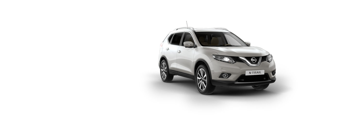 7 seater & 4x4 car - Universal Silver | Nissan X-Trail