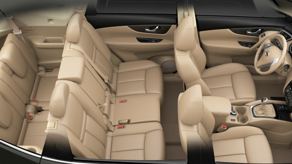 Nissan X-Trail - Three rows of seating