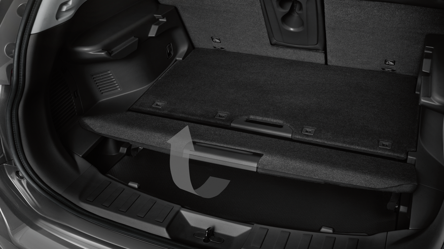 Nissan X-Trail - Luggage board system