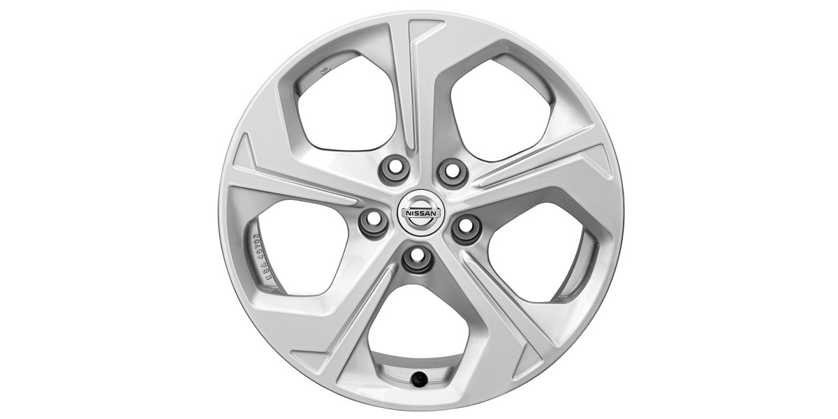 "X-Trail 17"" alloy wheel FLOW silver"