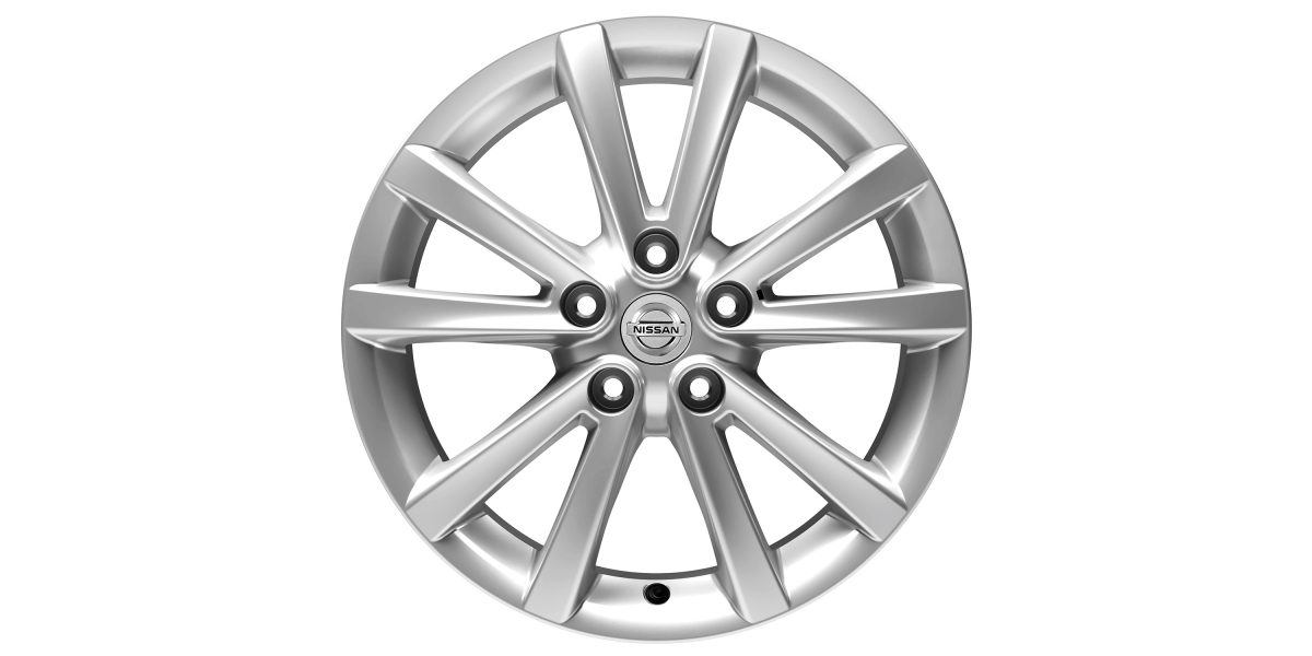 "X-Trail 17"" alloy wheel Fuji premium silver"