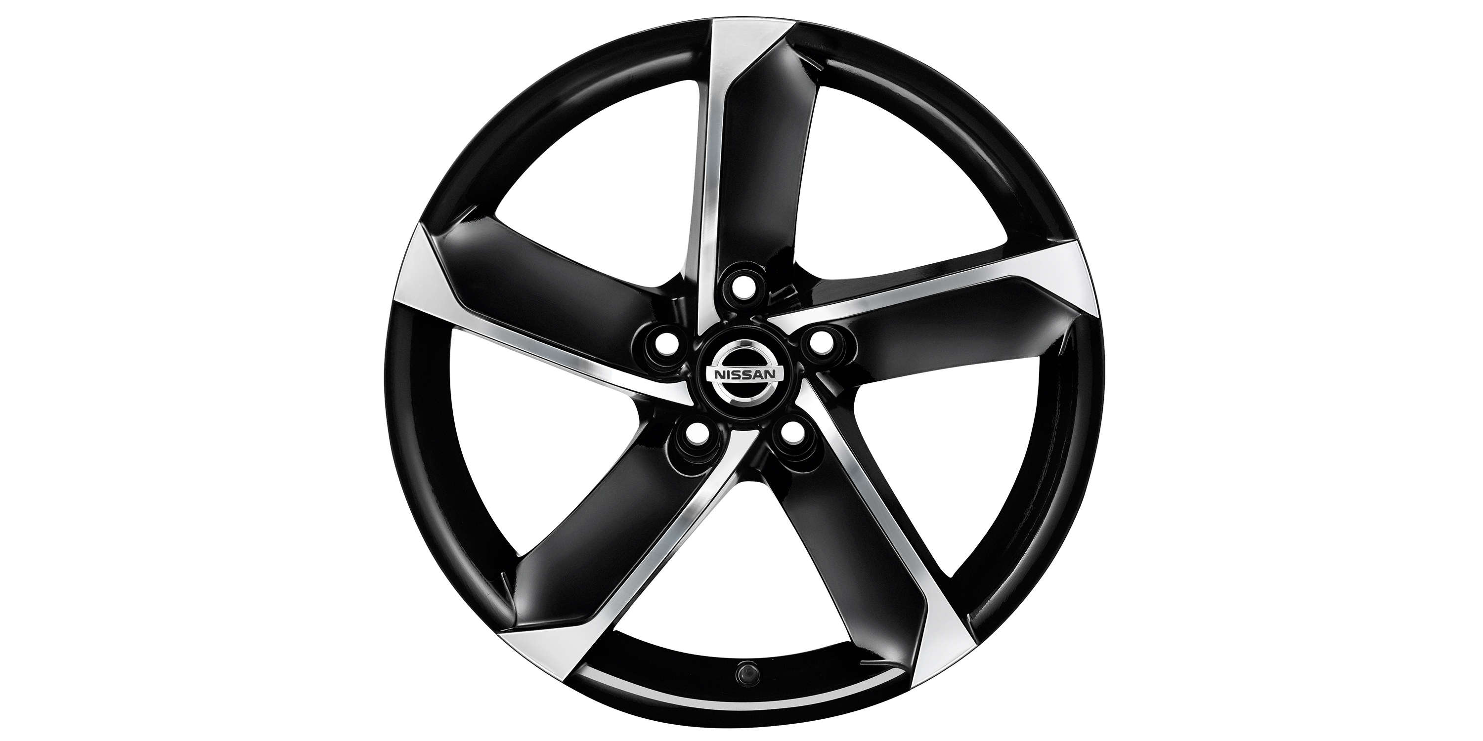 18'' HIMALAYA, DIAMOND CUT METALLIC BLACK