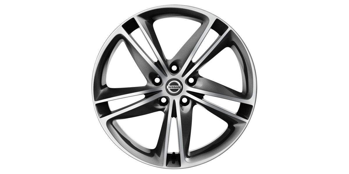 "X-Trail 19"" alloy wheel Ibiscus DC grey"