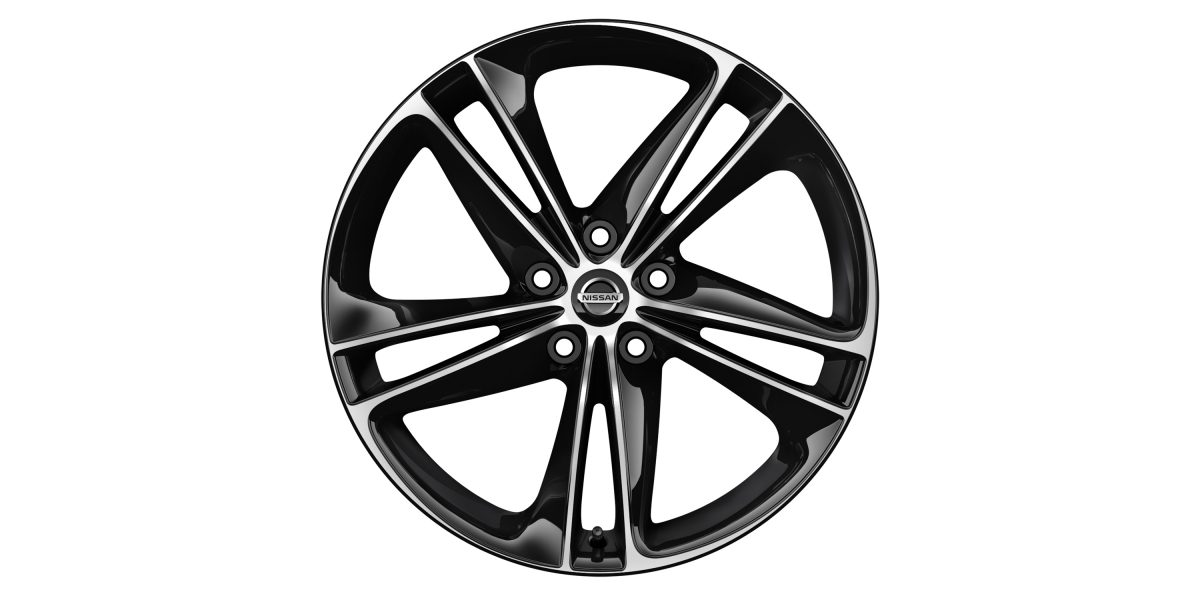 "X-Trail 19"" alloy wheel Ibiscus bi-colored"