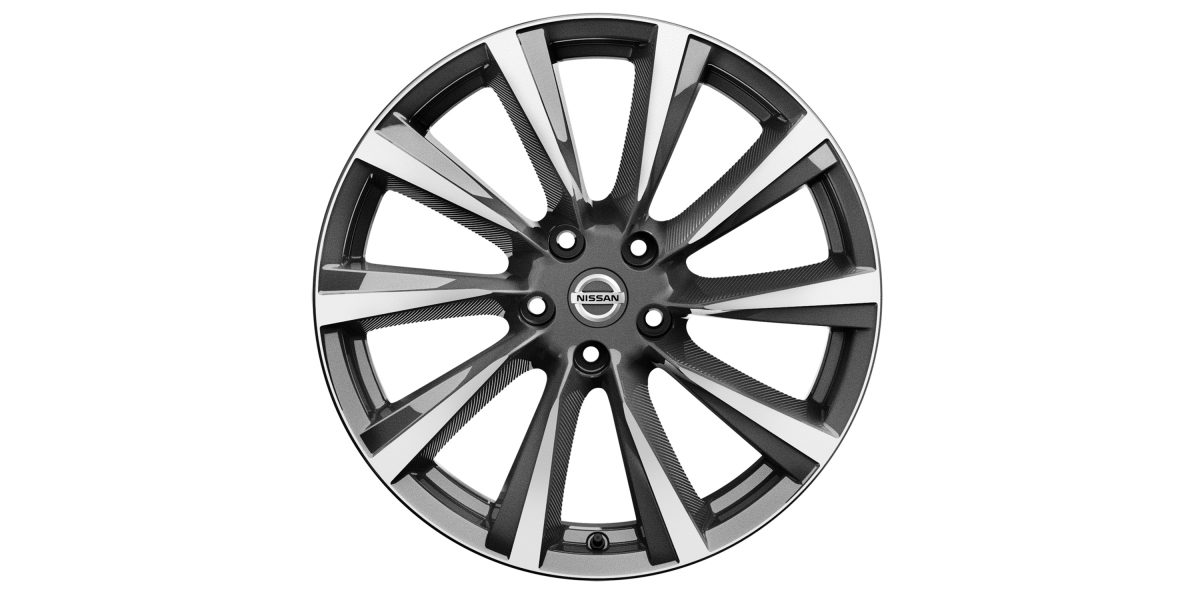 "X-Trail 19"" alloy wheel Wind DC grey"