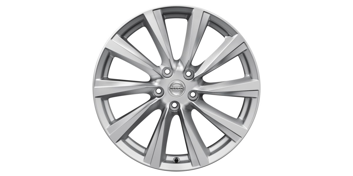 "X-Trail 19"" alloy wheel Wind Silver"