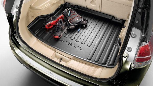 Nissan X-Trail - obloga prtljažnika