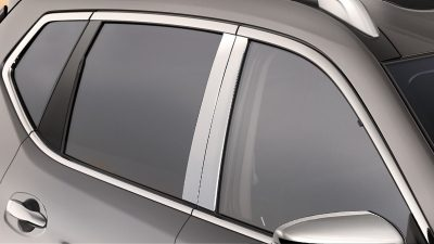 X-Trail B-pillar cover chrome