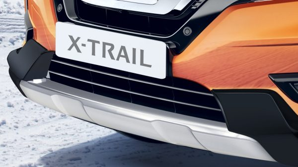 X-Trail front styling plate with over rider