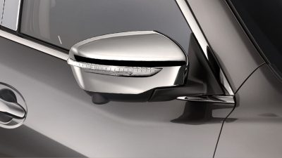 X-Trail chrome stripe door sills