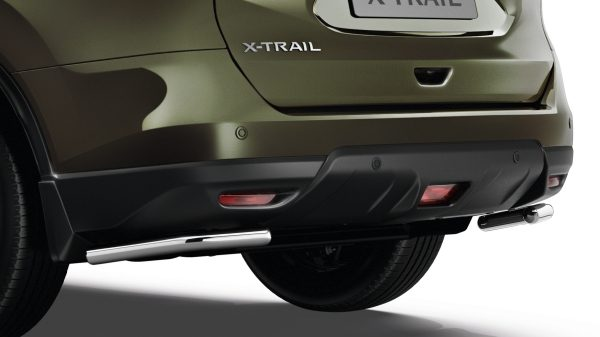 X-Trail rear styling bar corner steel