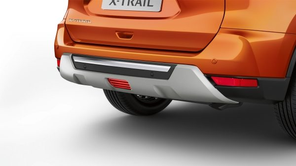 X-Trail rear styling plate