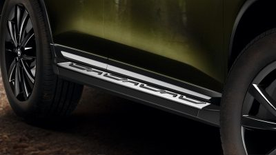 X-Trail side step aluminium