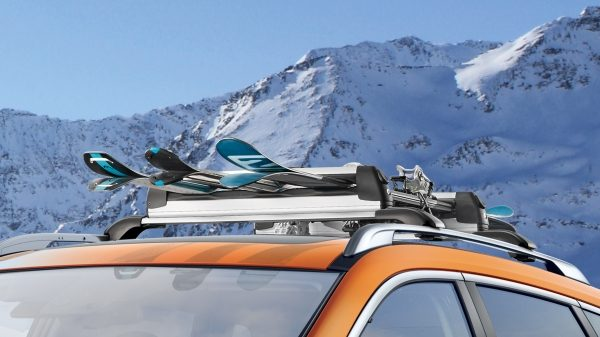 X-Trail ski carrier, up to 6 pairs slideable