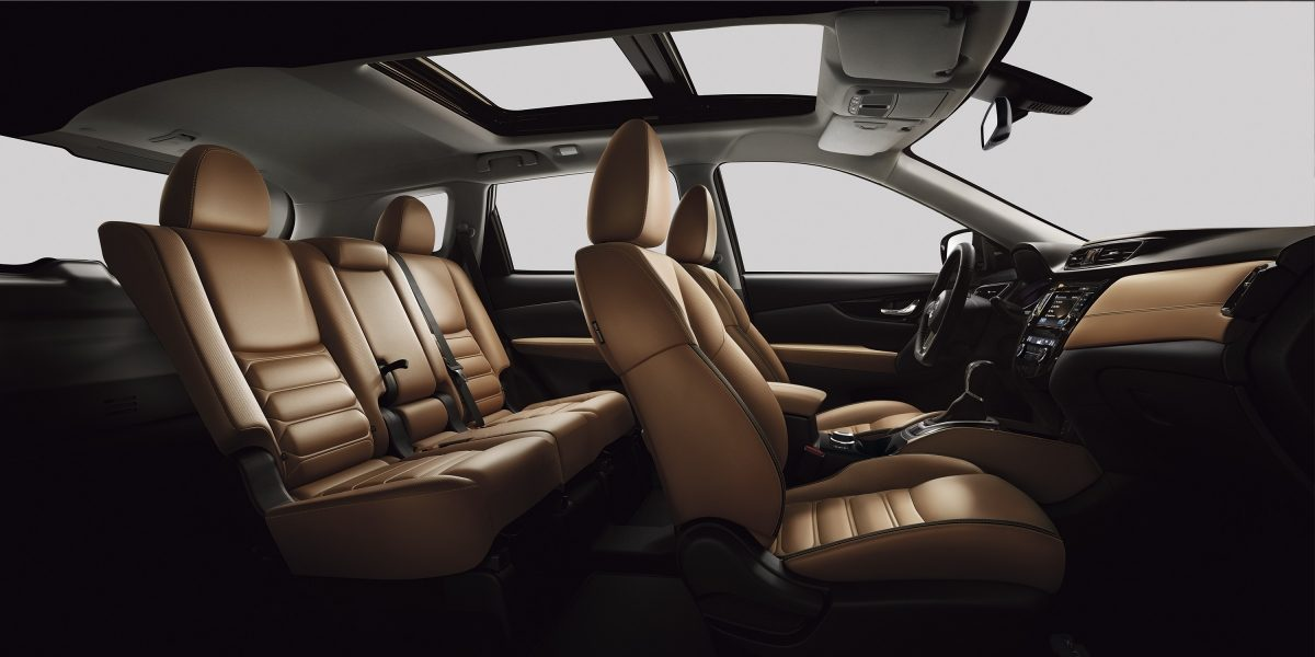 X-Trail large interior profile - tan leather