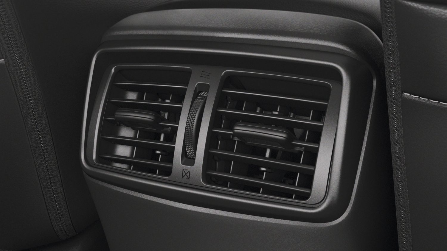X-Trail detail shot of 2nd row air vents