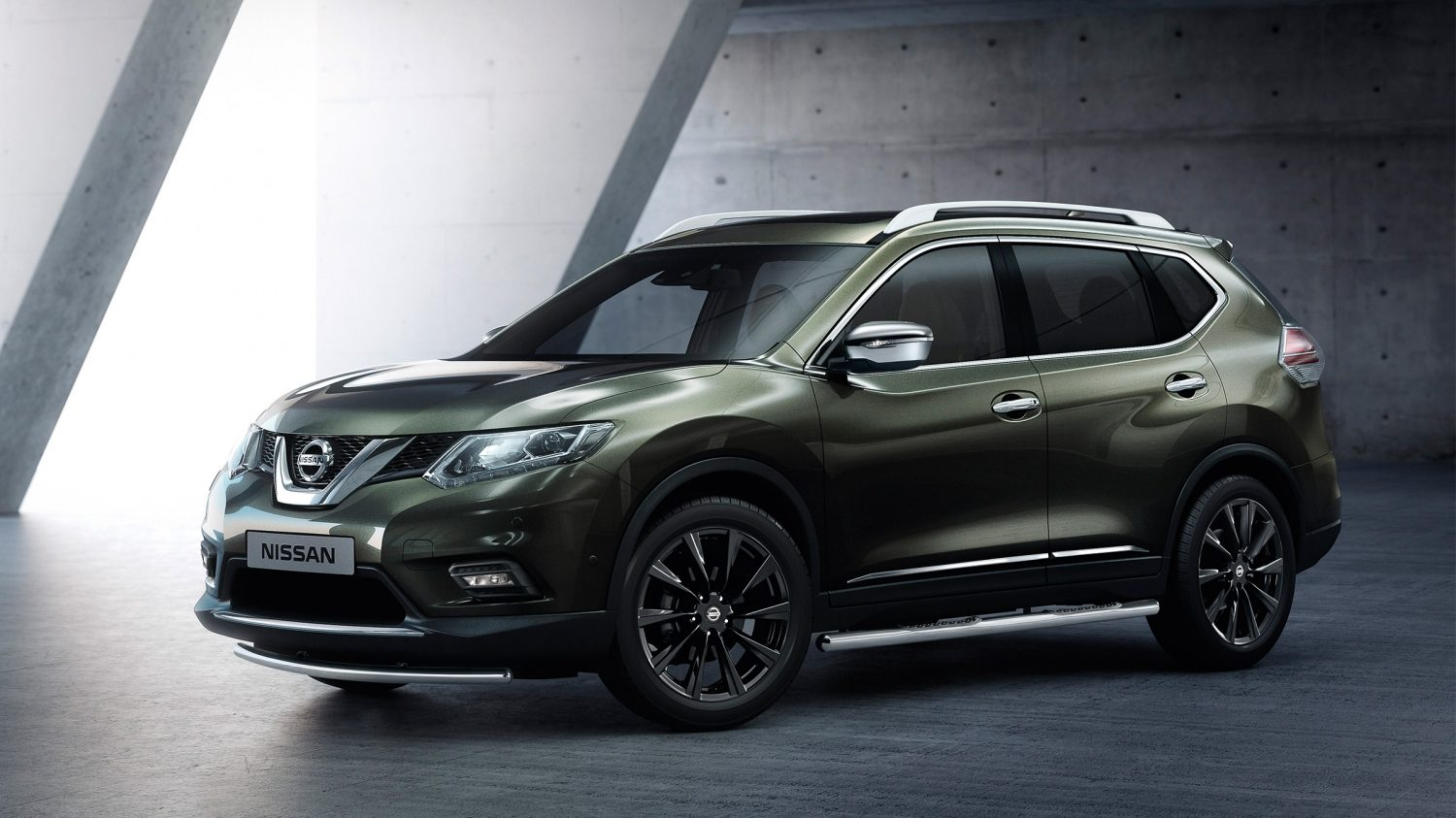 X-Trail 2017 3/4 front accessorised