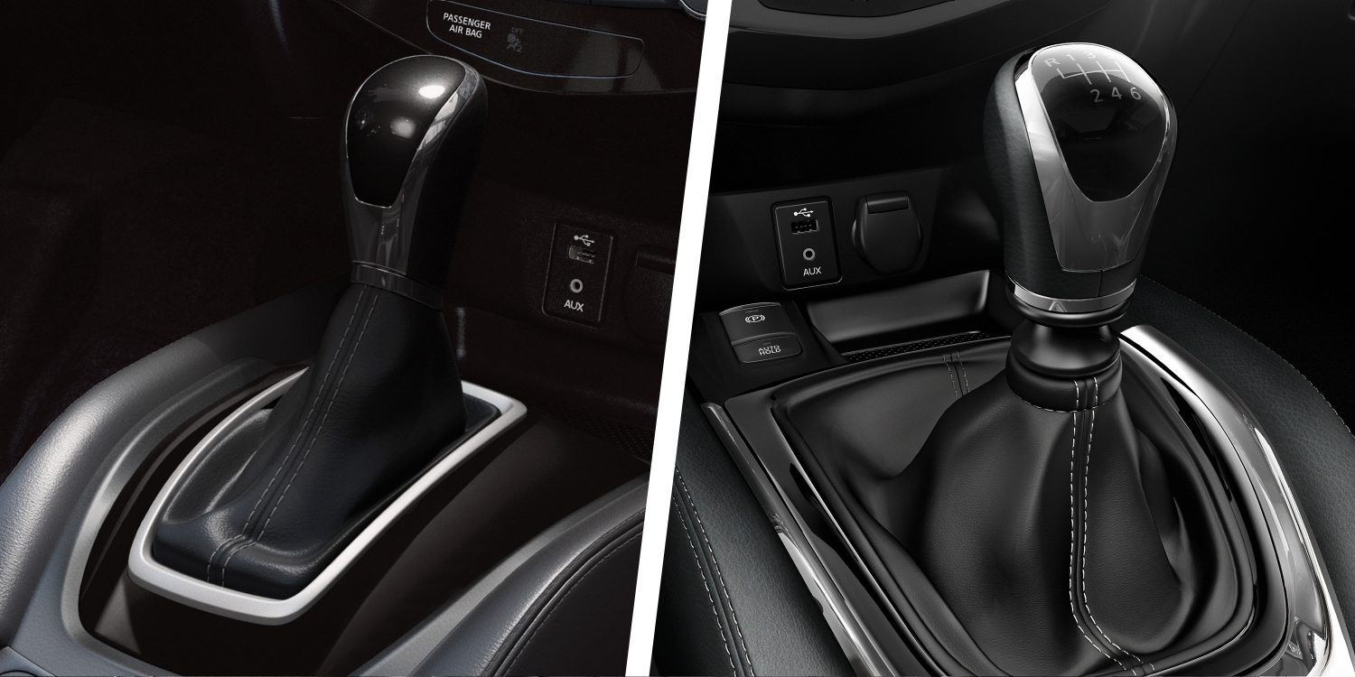 X-Trail Automatic and Manual gear knobs