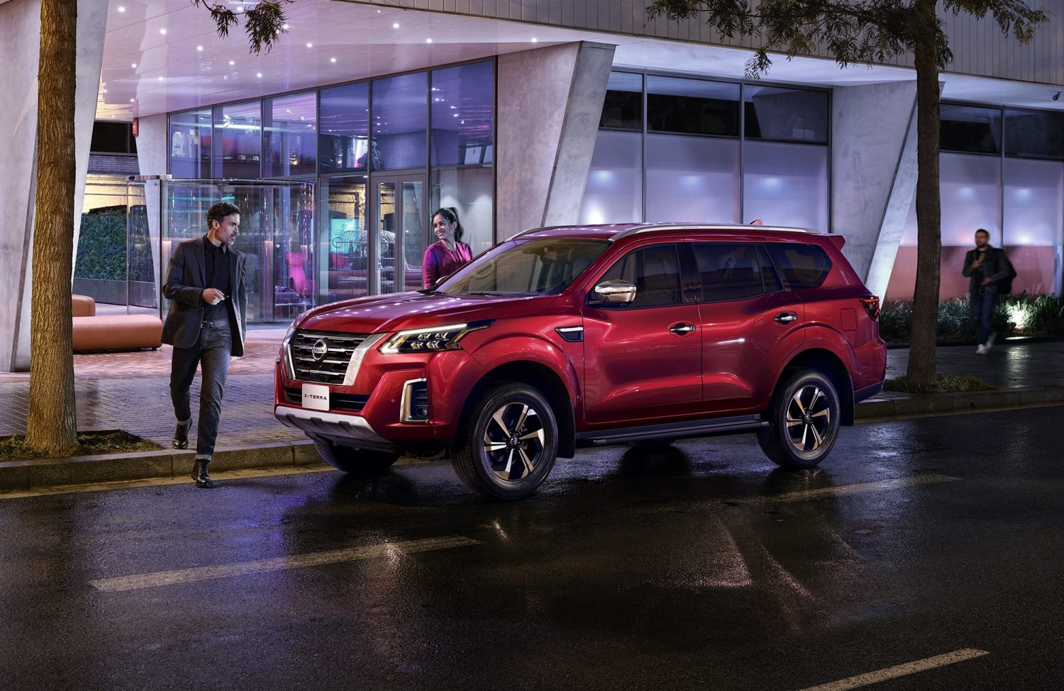 2021 Nissan X-Terra redesigned exterior