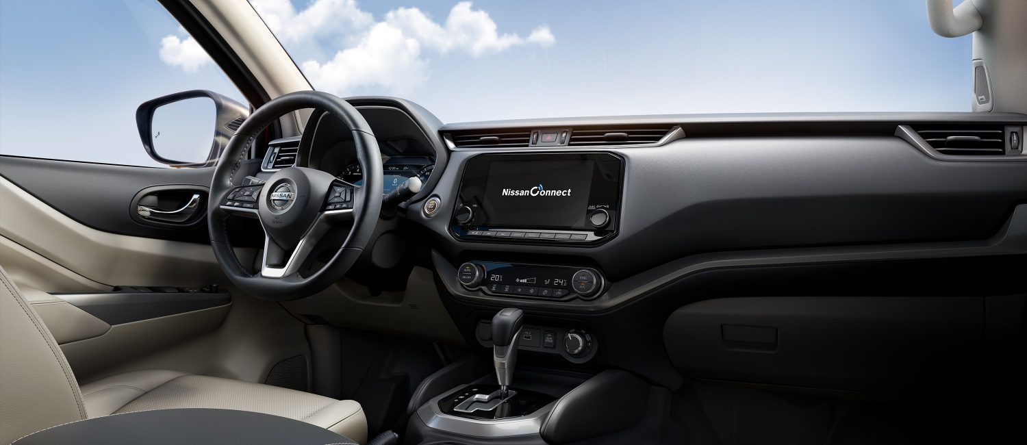 2021 Nissan X-Terra interior showing dashboard