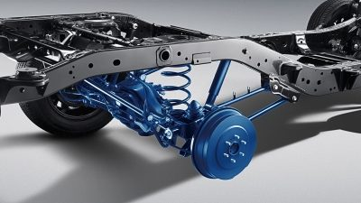 2021 Nissan X-Terra suspension