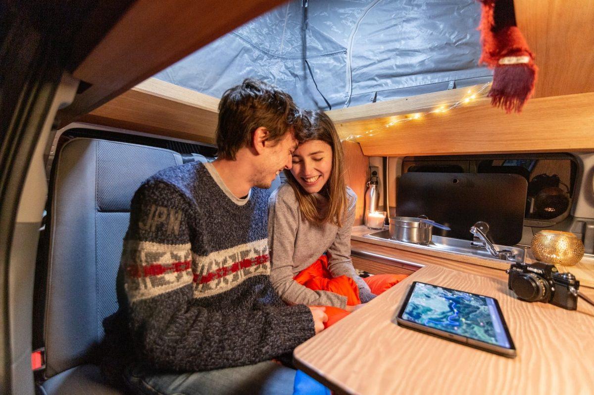 e-NV200 Winter Camper concept