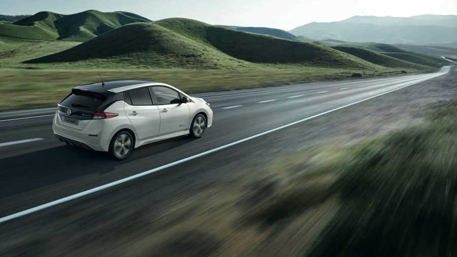 New Nissan LEAF Air pollution image TO BE LOCALISED BY MARKETS