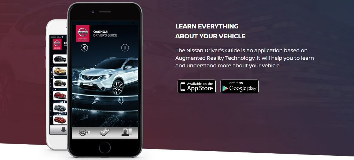 Nissan - Ownership - Services - Drivers Guide App