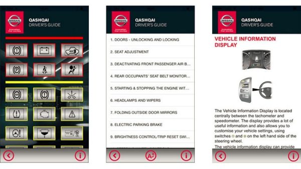 Nissan - Services - Drivers Guide App