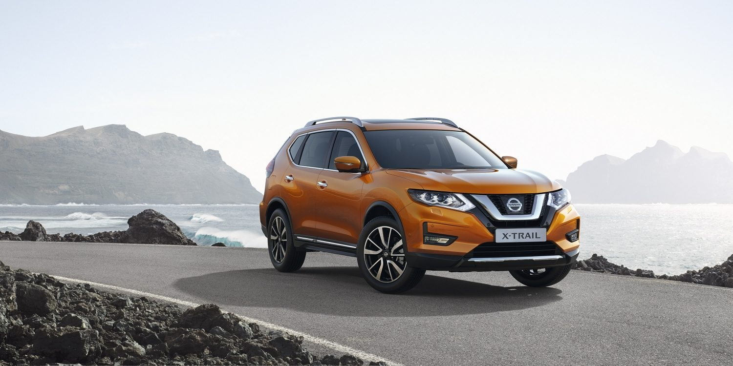 New Nissan X-Trail מבט 3/4 מלפנים