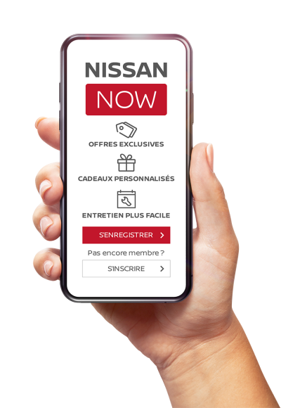 Nissan now application smartphone