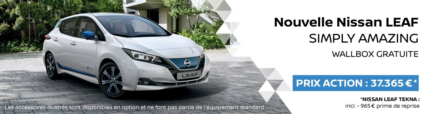 Nissan LEAF Promotion