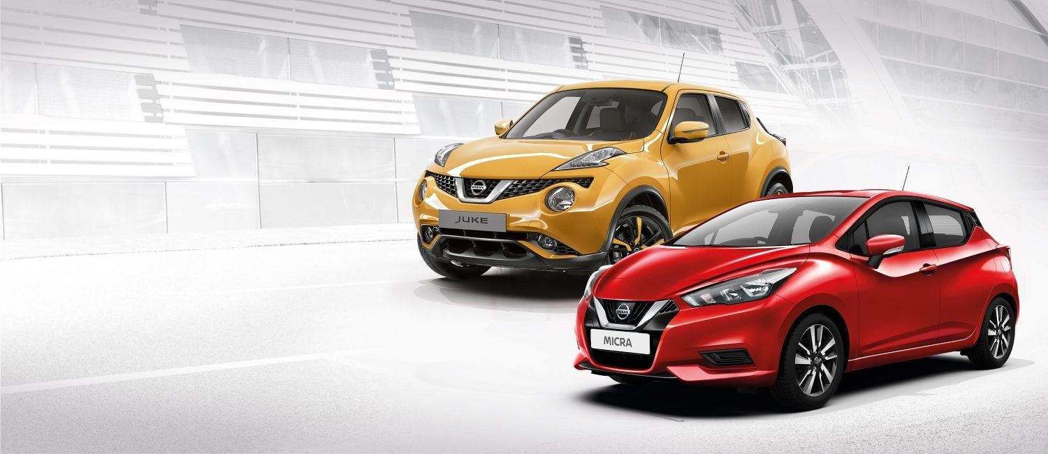 Zero Deposit offer October 2018 - Nissan Juke & Micra