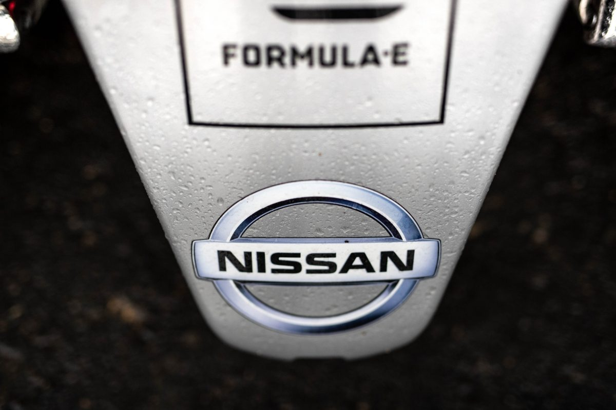 nissan formula e badge