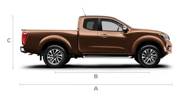 2018 Nissan Navara | Dimensions and Technical Information