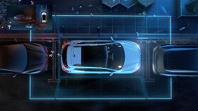 Crossover-Modelle & SUV – Vogelperspektive mit AROUND VIEW MONITOR    NISSAN