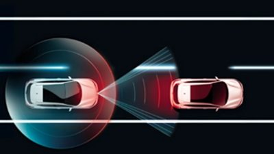 Crossover-Modelle & SUV – Abstandssensor mit Notbrems-Assistent   NISSAN