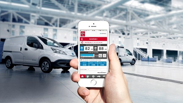 NissanConnect App for Electric Vehicles