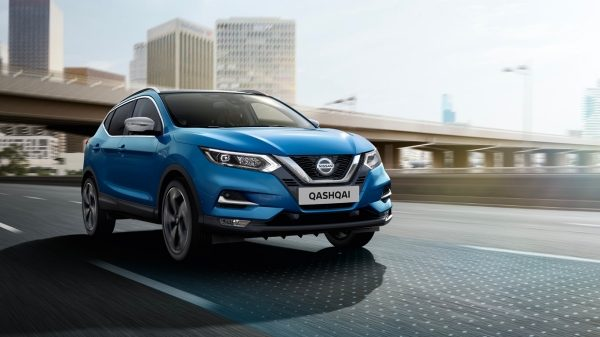 Nissan qashqai corporate sales