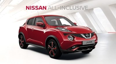Nissan Juke All-Inclusive