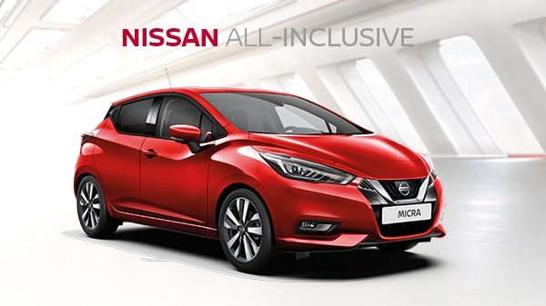 Nissan MICRA All-Inclusive financiering