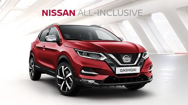 Nissan QASHQAI ALL-INCLUSIVE financiering