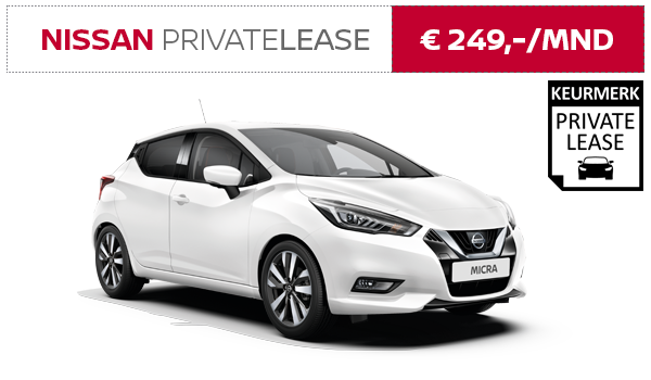 Nissan MICRA Private Lease