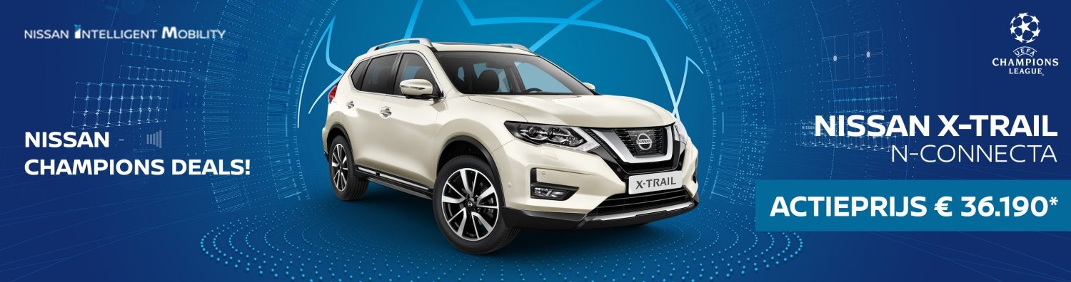Nissan X-TRAIL Make The Move