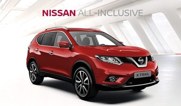 Nissan X-TRAIL ALL-INCLUSIVE Financiering