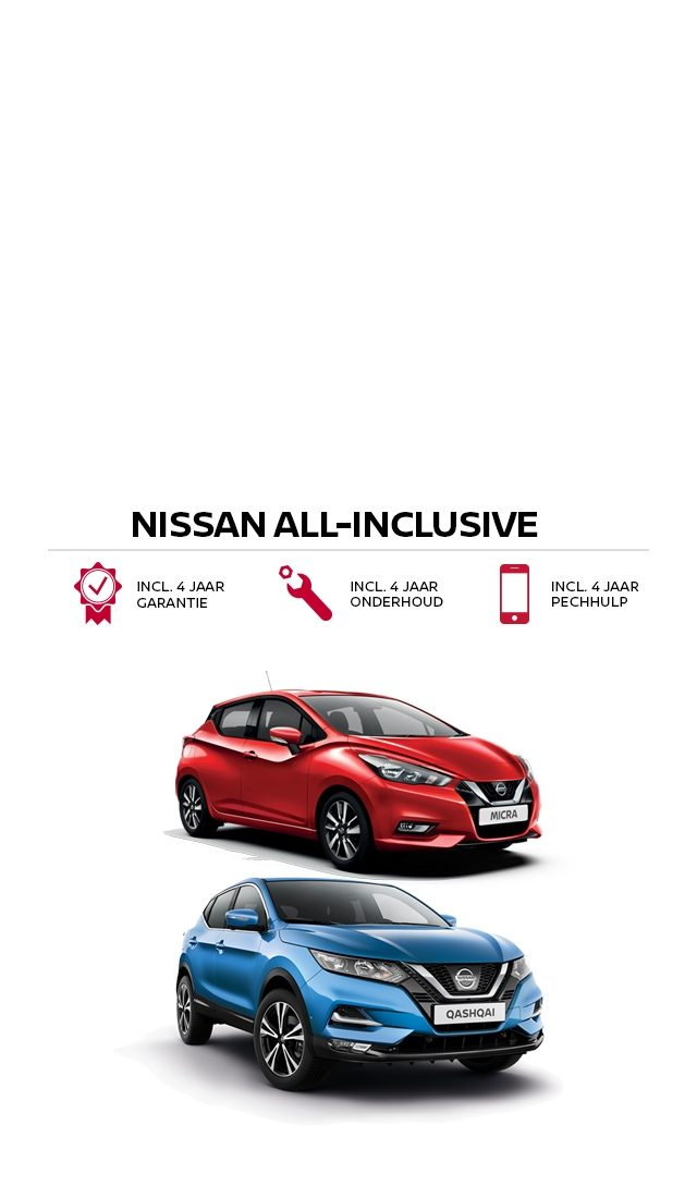 Nissan All Inclusive acties